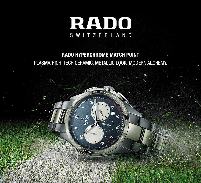 Rado Watches Fraser Hart